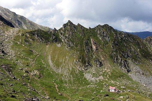 Mountain, Romania, Fagaras, Nature, Balea, Cottage
