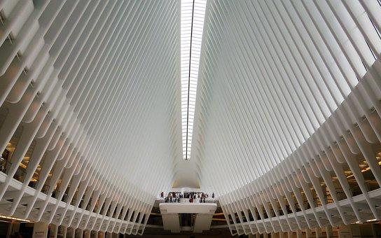 Oculus, Manhattan, Usa, Architecture, Railway Station