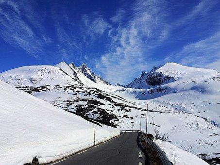 Jostedalsbreen National Park, Pass Road, Pass, Road