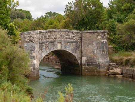 Island Of Oleron, Bridge, Pont Napoleon