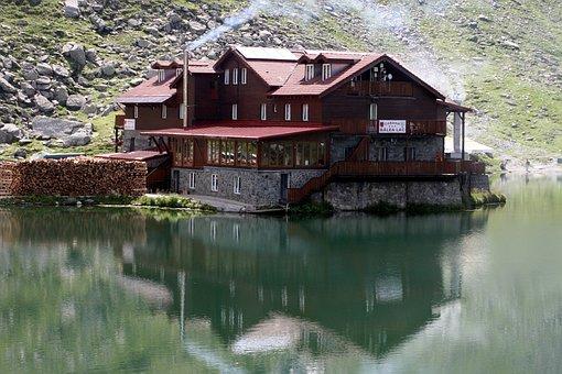 Balea, Balea Lake, Romania, Mountain, Water, Nature