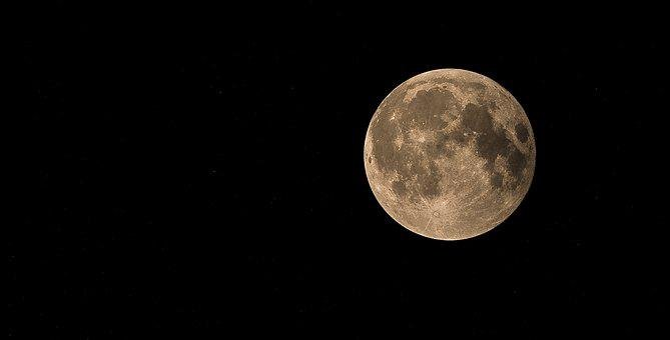 Full Moon, Lunar Eclipse, Moon, Blood Moon, Sky
