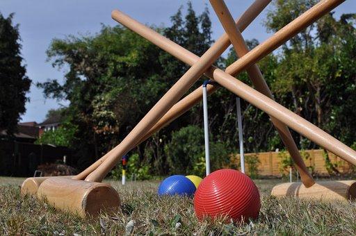 Croquet, Garden, Summer, Sport, Party, Social, Ball