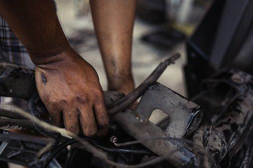 Hands, Work, Dirty, Dirty Hands, Hard Work, Mechanic