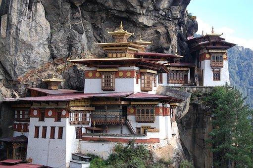 Bhutan, Tiger's Nest, Buddhism, Guru Rinpoche