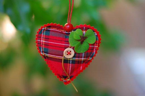 Clover, Practices, Four, Green, Heart, Ornamentation