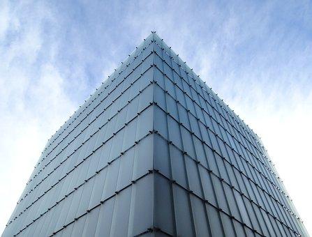 Cube, Building, Structure, Architecture, Construction
