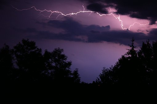 Storm, Lightning, Flash, Thunder