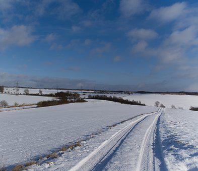 Winter, Cold, Sky, Snow, Frost, Wintry, Ice, Landscape