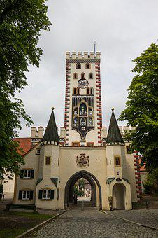 Bayer Gate, Landsberg, Lech, Architecture