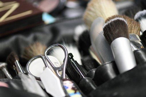 Schmink Brush, Brush, Beauty, Cosmetics, Make Up