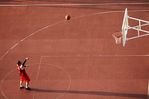 Basketball, Playground, Basketball Courts, Sport, Ball