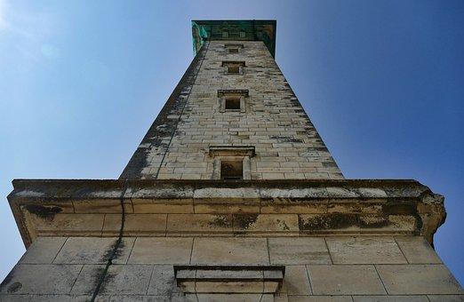 Lighthouse, France, Sea, Landscape, Atlantic, Royan