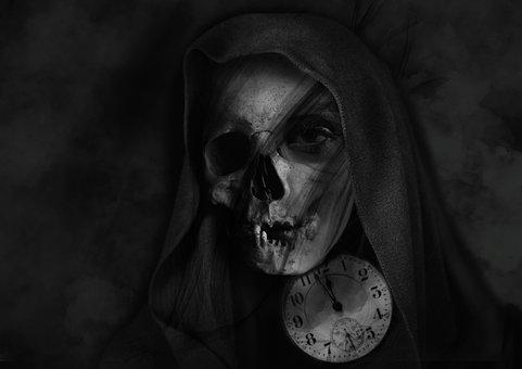 Horror, People, Portrait, Skittish, Halloween
