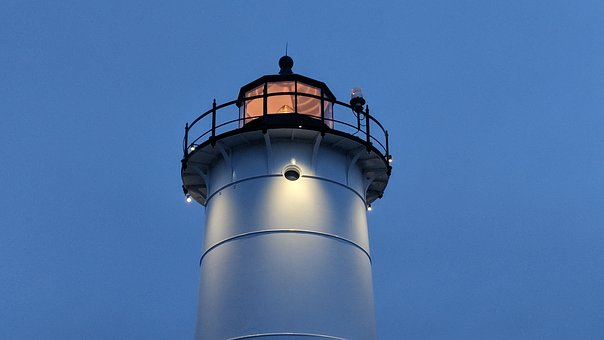 This Lighthouse Was In Cape Cod