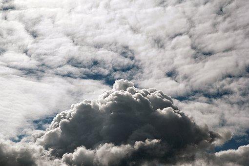 Thunder Cloud, Cloud, Raincloud, Weather, Air