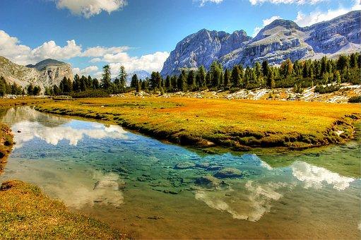 Fanes, Dolomites, Rock, Landscape, Mountains, Alpine