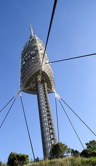 Barcelona, Tibidabo, Spain, Architecture, City