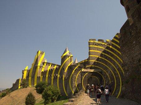 Carcasonne, France, Europe, History, Tourism, Medieval