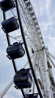 Carousel, Ferris Wheel, Fun, Entertainment, Pleasure