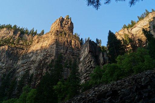 Hanging, Lake, Trail, Co, Colorado Hanging Lake Trail