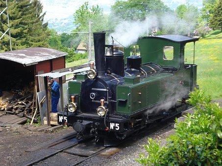 Steam Locomotive, Chamby On Blonay, Museum, Loco, Leb