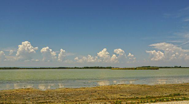 Nature, Panorama, Zicksee, Landscape, Sky, Clouds