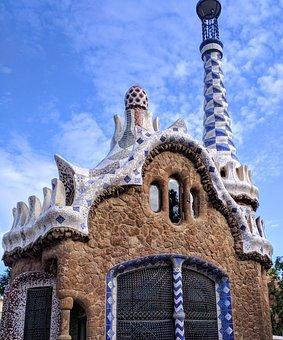 Park Guell, Gaudi, Architecture, Barcelona, Catalonia