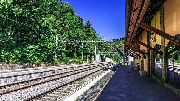 Station, Railway, Architecture, Platform, Urban, Output