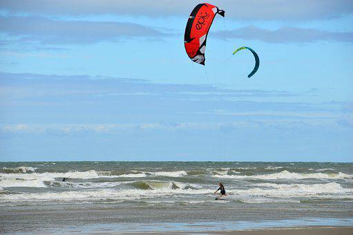 Sea, Beach, Stella Beach, Hauts De France, Resort, Sand