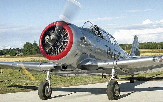 Fly, North American T6 Harvard, Texan