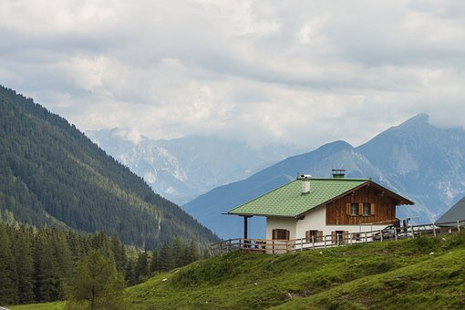 Kematen Alm, Mountain, The Mountains Of The Tyrol