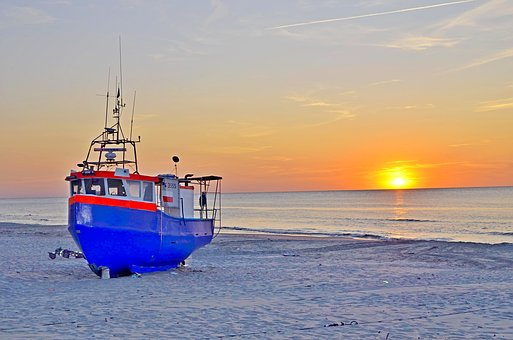 Krynica, A Fishing Vessel, The Baltic Sea