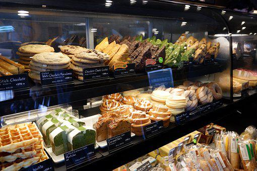 Bread, Sweets, Starbucks, Food, Delicious, Bakery