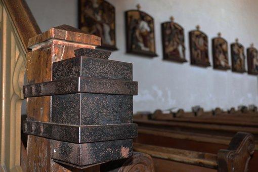 Church, Donation, Offertory Box, Faith, Restorative Box