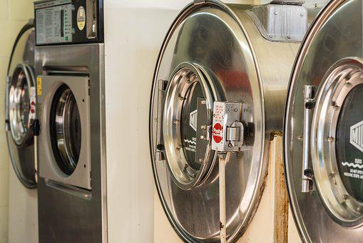 Dryer, Laundromat, Dirty, Electric, Appliance, Laundry