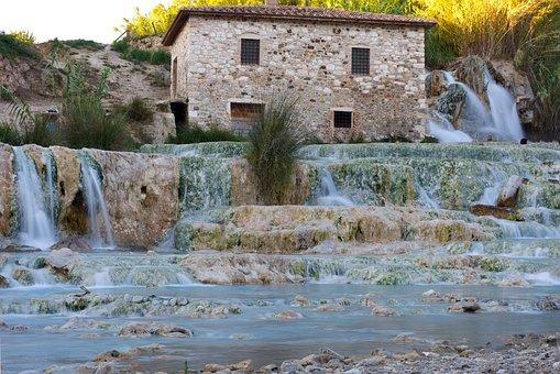 Tuscany, Saturnia, Maremma, Italy, Landscape, Summer