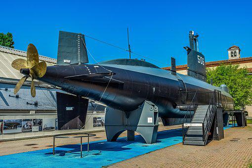 Submarine, Nautical, Museum Of Science And Technology