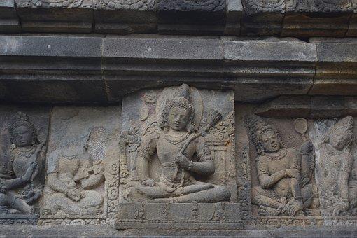 Carving, Hinduism, Prambanan, Religious, Temple, Unesco