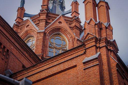 Architecture, Gothic, The Façade Of The, Catholic