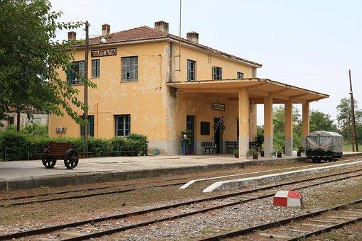 Farsala Railway Station, Train Station Farsala, Ilium