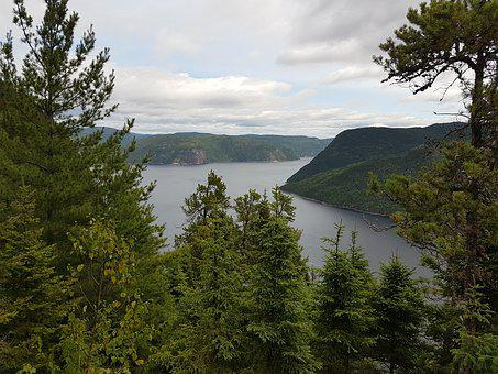 Fjord, Vista, Saguenay, Quebec