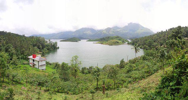 Wayanad, Green, Kerala, Landscape, Outdoors, Dam, Water