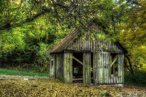 Woodshed, Lack Of Maintenance, Worn