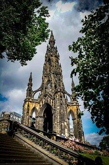 The Scott Monument, Edinburgh, Scotland, Architecture