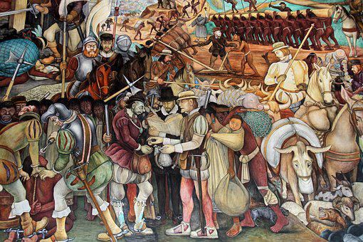 Mural, Diego, Rivera, Mexican, Famous, Artist