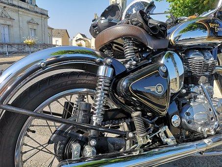 Motorcycle, Wheel, Drive, Transport, Chrome, Engine