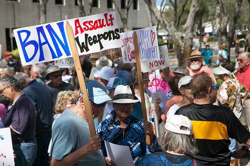 Ban, Assault Weapons, Gun, Violence, Protest, Rally