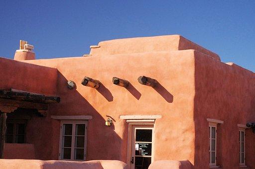 Painted Desert Inn, Arizona, Inn, Building, Adobe