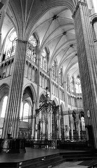 Monument, Cathedral Of Saint-etienne, Gothic, Auxerre